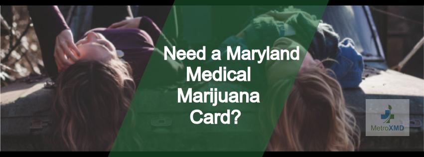 Medical Marijuana Card Maryl